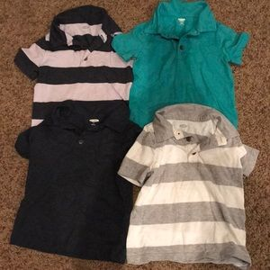 Old navy 2T short sleeve polo lot
